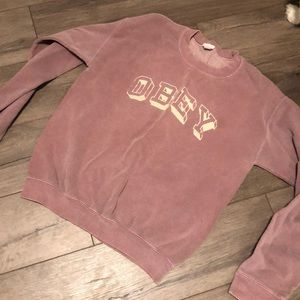 Obey Small Crewneck